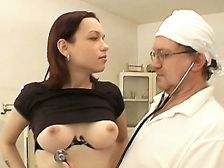 Clinic Fuck uniform fetish video
